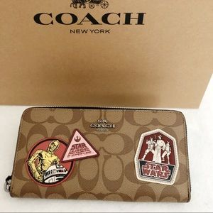 Star Wars X Coach Wallet With Patches